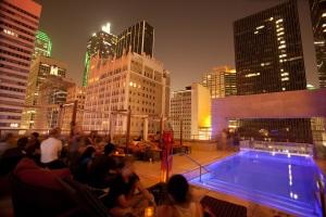 Joule Hotel Rooftop Pool